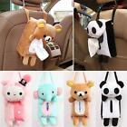 Portable Hanging Car Rectangle Animal Tissue Box Cover Holder Bathroom Storage J