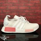 Adidas NMD R1 Runner White Rose White Pink BY9952 Women's Size 5 - 9.5