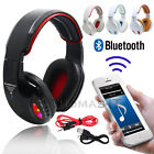Wireless Bluetooth 4.2 Super Bass Stereo Headphone Headset, Built-in Mic/SD Slot