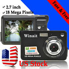 18 Mega Pixels CMOS 2.7 inch TFT LCD Screen HD 720P Digital Camera Camcorder US