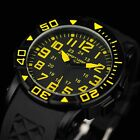 INFANTRY INFILTRATOR Mens Quartz Wrist Watch Military Army Sport Black Rubber US image