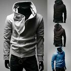 Men's Winter Hoodie Warm Hooded Sweatshirt Coat Zipper Jacket Outwear Sweater