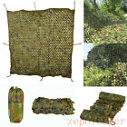 Camouflage Net Hunting Shooting Camping Woodland Camo Netting Hide Army 5 Sizes