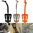 5PCS Outdoor EDC Mini Tool Backpack Carabiner Molle Buckle Bag Clip Winder Pro