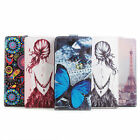 New Fashion Build-in Printing PU Leather Stand Case Cover Skin For Xiaomi Note 2