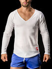 Barcode Berlin 90997 Thermo V-Neck Mark  white  Gr: L