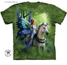 Romantic Unicorn Fairy T-Shirt/Tie Dye,Anne Stokes Art,Realm Of Enchantment Tee