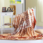 Faux Sable Cashmere Plush Throw Blanket Ultra Soft Comfort Bedding British Free