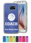Personalized Case for Galaxy S3 S4 S5 S6 S7 - Basketball Coach,  Coaching