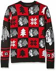Forever Collectibles NHL Men's Chicago Blackhawks Patches Ugly Sweater