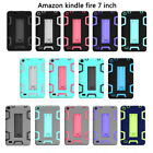 """For Amazon Kindle Fire 7"""" 5th Gen 2015 Shockproof Kickstand Rugged Case Cover"""