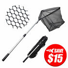 MadBite Fish Net Safe Catch and Release Fishing Landing Net Telescopic Handle