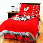 Georgia Bulldogs Bed in a Bag Twin Full Queen King Size Comforter CC