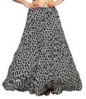 Carrel Imported Polly Cotton Fabric Printed Long Skirt For Women.3487