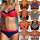 Womens Bikini Set Bandage Push-Up Padded Swimwear Swimsuit Bathing Brazilian USA