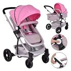 Ajust 2 In1 Foldable Baby Stroller Kids Travel Newborn Infant Buggy Pushchair