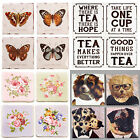 COASTERS | Set of 4 Ceramic Coasters | Vintage Retro Sass & Belle NEW Designs