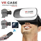 HOT VR BOX Case Virtual Reality 3D Glasses Headset+Controller For Smart Phones