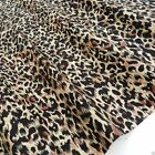 "per 1/2 metre/fat quarter 100 % cotton Leopard Animal Print 44"" wide 112cm"