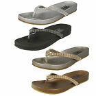 Ladies Down To Earth toe post flip flops Style F0876S