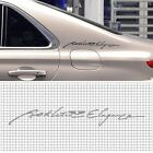 Decal Product Slogan Sticker 430mm For Hyundai Genesis Sedan : DH