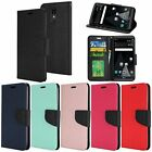 For LG Aristo LV3 MS210 Premium PU Leather Wallet Flip Cover Case Pouch
