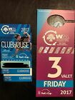 2017 Phoenix Open 2 CLUBHOUSE Tickets FRIDAY **FREE VALET PASS**