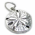 Sand Dollar sterling silver charm 925 x1 Sea Cookie Snapper Biscuit SSBR617