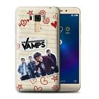 Gel/TPU Case/Cover for Asus ZenFone 3 Laser ZC551KL /The Vamps Doodle Book