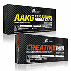 AAKG + Creatine Magna Power Blisters 30-180 Caps. Muscle Growth Pump Pre-Workout