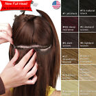 Premium Thick Clip in Remy Human Hair Extensions with Cloth New Full Head SU674