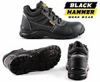 Waterproof Leather Mens Safety Boots Steel Toe Cap Work Shoes Ankle Size 5-13