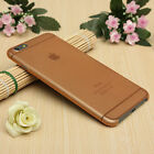 0.3mm Case For iPhone Ultra Thin Slim Matte Hard Back Cover Skin 6 7 8 Plus