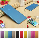 0.3mm Case For iPhone Ultra Thin Slim Matte Hard Back Cover Skin 5 6 7 7+