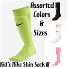 KID'S/YOUTH NIKE FÚTBOL / SOCCER SHIN SOCK III *SP0121* ASST. COLORS&SIZES *NIP*