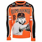 MLB Men's San Francisco Giants Madison Bumgarner #40 Player Ugly Sweater