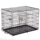 """48""""/42""""/36""""/30""""/24"""" Pet Kennel Cat Dog Folding Crate Wire..."""