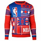 Forever Collectibles Men's NBA Logo Patches Ugly Sweater
