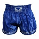 Bad Boy Muay Thai Shorts Blue - Thai Boxing MMA UFC Training Fight Trunks