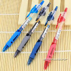 12pcs GP-1008 0.5mm Roller Gel Pen Retractable Smooth Writing