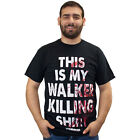 The Walking Dead This Is My Walker Killing Shirt Black Adult T-Shirt