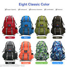 50L Outdoor Backpack Hiking Bag CampingTravel WaterResistant Pack Mountaineering