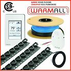120V Premium Electrical Radiant Warming Floor Heating Cable System All Sizes