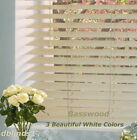 """2"""" DELUXE BASSWOOD (REAL WOOD) BLINDS 34 1/4"""" WIDE x 49"""" to 60"""" LENGTHS"""