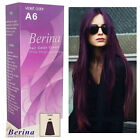 bleach and color - Purple Violet Classic Permanent Berina A6 Hair Dye Color Cream and bleaching set
