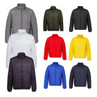Mens 2786 Comfortable Fit Tribe Fineline Zip Quilted Padded Jacket Size XS-2XL