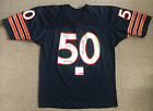 MIKE SINGLETARY Signed Chicago BEARS 1980's Authentic Champion JERSEY PSA/DNA