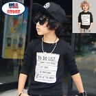 1Set Fashion Kids Toddler Boys Handsome Black Blouse + Gray Casual Pants US Hot