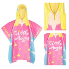Nifty Kids Soft Cotton Angel Hooded Poncho Towel Childrens Bath & Beach Wear