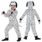 Smiffys Childs Plush Dalmatian Jumpsuit World Book Day Party Fancy Dress Costume
